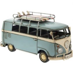 VINTAGE VW CAMPERVAN BLUE