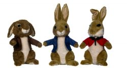 "8"" PETER RABBIT PLUSH 3 ASST"