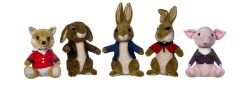 10″ PETER RABBIT MOVIE 5 ASST