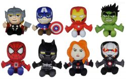 "9.5"" MARVEL AVENGERS PLUSH – 8 ASSTD"