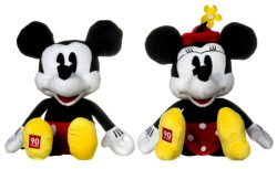 "12""/30CM 90TH ANNIVERSARY MICKEY AND MINNIE"