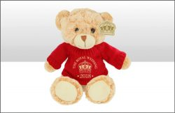DISC ROYAL WEDDING 2018 20cm JUMPER BEAR