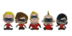 10″ INCREDIBLES 2 PLUSH – 5 ASSTD