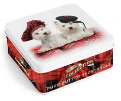 90g DOGS WITH TARTAN TAMMIES S/B TIN