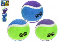 SET OF 3 PET TENNIS BALLS
