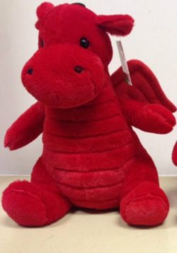 WALES PLUSH DRAGON LARGE