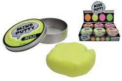 GLOW IN THE DARK THINKING PUTTY (50gm) IN TIN