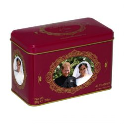 Prince Harry & Meghan Markle 40 Teabag Tin