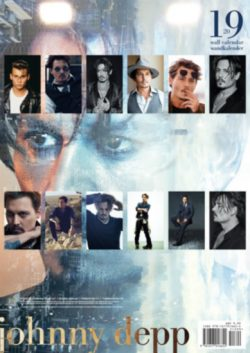 2019 JOHNNY DEPP WALL CALENDAR