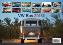 2018 VW CAMPER VANS CALENDAR