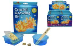 CRYSTAL GROWING KIT IN COLOUR BOX