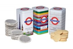 London Tube Scene 40 English Afternoon Blend Teabags