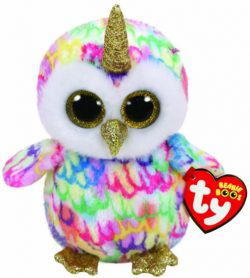TY BEANIE BOO – ENCHANTED HORNED OWL