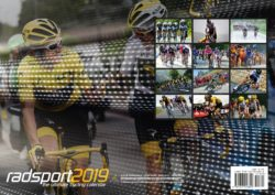 CYCLING A3 WALL CALENDAR 2019