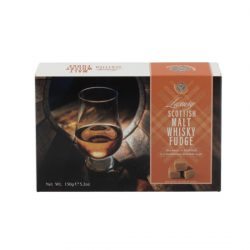 Malt Whisky Fudge Carton (Glass )  NEW