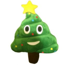 Emotive Christmas Plush Cushion – Christmas Tree