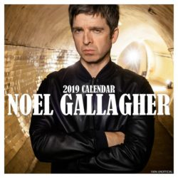 NOEL GALLAGHER 2019 CALENDAR
