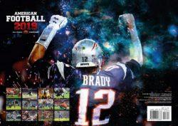 2019 AMERICAN FOOTBALL WALL CALENDAR