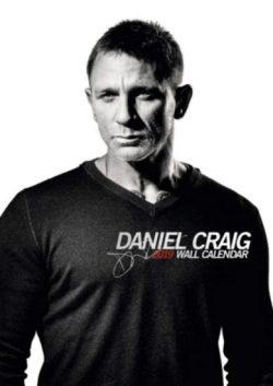 2019 DANIEL CRAIG WALL CALENDAR