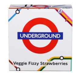 TBD London Underground Map Carton Vegan Fizzy Strawberries