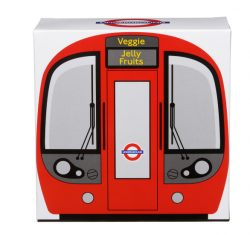 TBD London Tube Train Carton Vegan Fruit Jellies