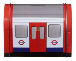 TBD London Tube Train Tin Shortbread Biscuits