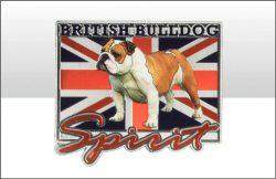 British Bulldog Spirit UJ Foil Stamped Magnet