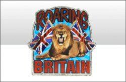 Roaring Britain Foil Stamped Magnet