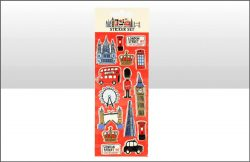 Lovable London Sticker Set