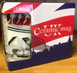 LONDON SKYLINE BLUE BOXED MUG