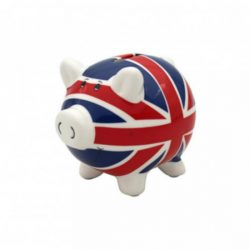 LARGE UJ PIGGY BANK