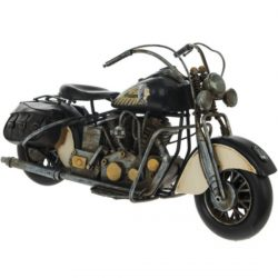 METAL ART MOTORBIKE – CHOPPER – BLACK