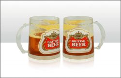 British Beer Liquid Filled Tankard 200ml