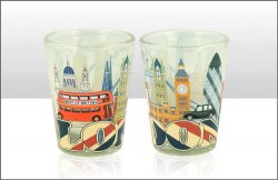 London UJ & Skyline Shot Glass