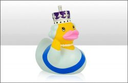 Queen Rubber Duck 10.5cm