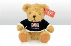 London 20cm UJ Jumper Soft Toy Bear