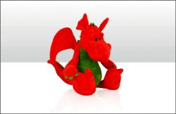 Wales Dragon Soft Toy 20cm