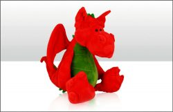 Wales Dragon Soft Toy 25cm