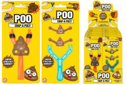 SLING SHOTS – POOP – 2 ASSORTED