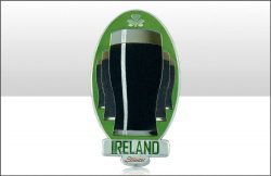 Ireland Stout Glass Foil Stamped Magnet
