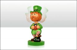 Paddy O'Shamrock Leprechaun Bobble Head Figure Sm