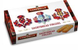 150g Tartan Thistle Carton (Shortbread Fingers)