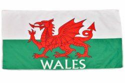 Wales Tea Towel Microfibre 72x40cm Flag