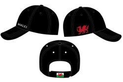 Wales Design Baseball Cap 2 Asstd