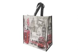 LONDON SCENES SHOPPING BAG