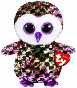 TY FLIPPABLE BUDDY – CHECKS THE OWL