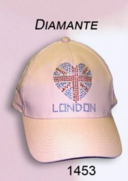 DIAMANTE LADIES BASEBALL CAP