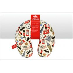 Lovable London Travel Neck Pillow