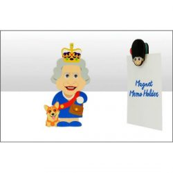 The Queen Wood Magnet Clip