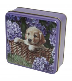 PUPPY TIN SHORTBREAD 100g